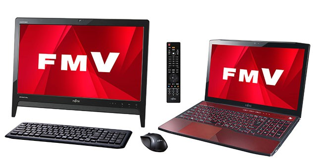 Fujitsu zeigt FMV Windows 8 AIO PCs, Laptops und WiFi only Arrows Tablet
