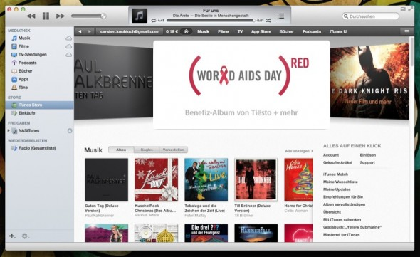 Hat sich was mit Krise: iTunes meldet 25 Milliarden Musik-Downloads