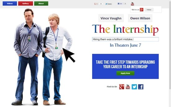 The Internship: Praktikant bei Google als Hollywood-Komödie (Video)