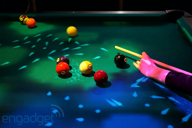 OpenPool: Augmented Reality Billiard mit Kinect-Lightshow