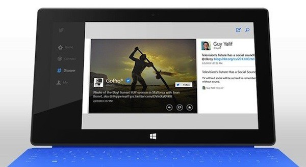 Twitter stellt Windows 8-App vor (Video)