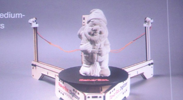 "Makerbot stellt Amateur-3D-Scanner ""Digitizer"" vor (Video)"