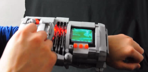 DIY: Pipboy3000si aus Lego (Video)