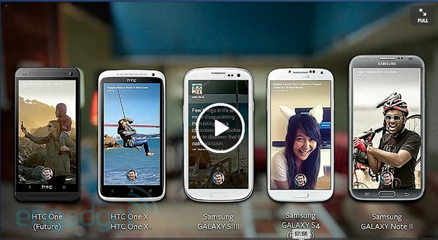 Facebook Home schon ab 12. April auf diversen Smartphones (HTC One X & X+, Samsung Galaxy SIII und Note II)