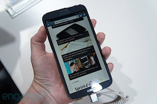 Hands-On: Samsung Galaxy Mega (Video)