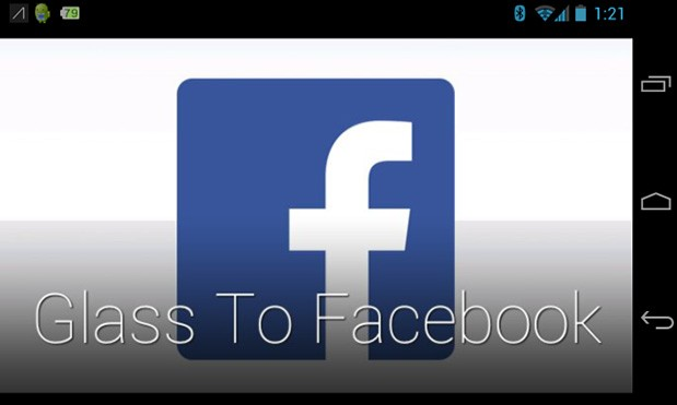 Glass To Facebook: Inoffizielle Facebook App für Google Glass