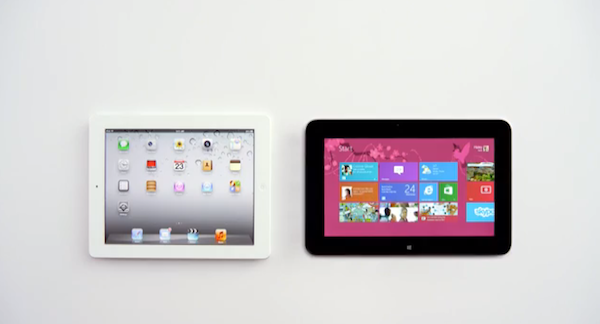 Dell-Tablet vs. iPad: Siri kommentiert Microsoft-Werbevideo