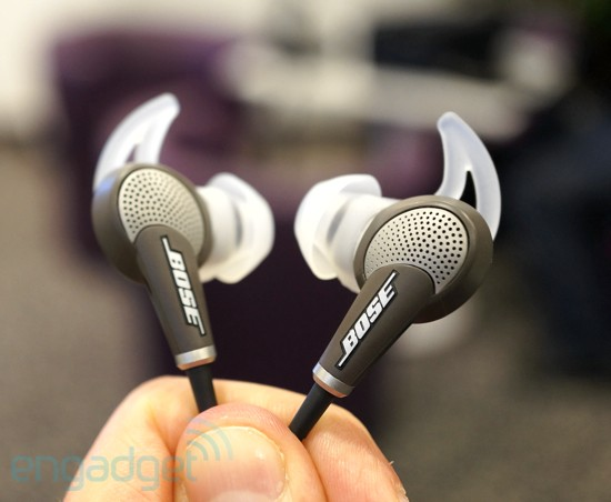Bose Quietcomfort 20: Noise Cancelling InEars (Hands-On)