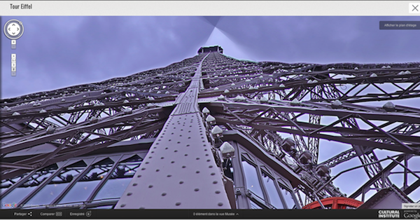 Google Street View erklimmt den Eiffelturm (Video)