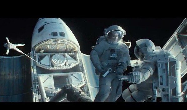 Video: Sandra Bullock wird in den Weltraum katapultiert (2ter Gravity Trailer)