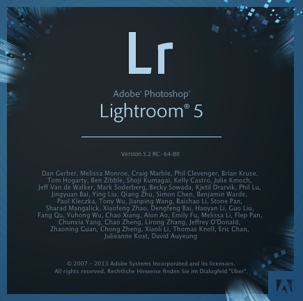 Photoshop Lightroom 5.2 RC und Camera RAW 8.2 RC sind da