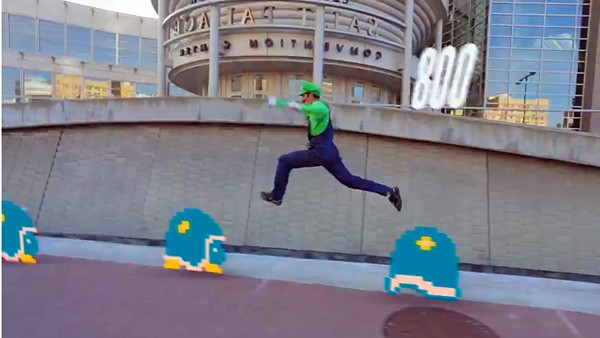 Video: Super Mario Brothers Parkour, Jump & Run in der realen Welt