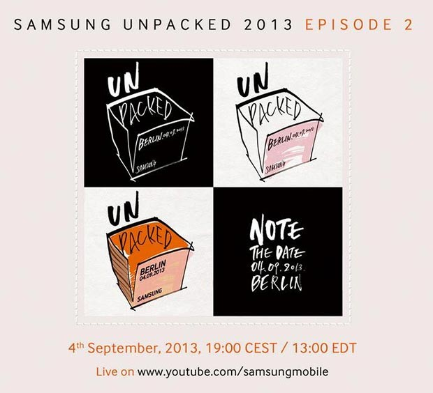 Livestream ab 19 Uhr: Samsung Unpacked 2013 Episode 2