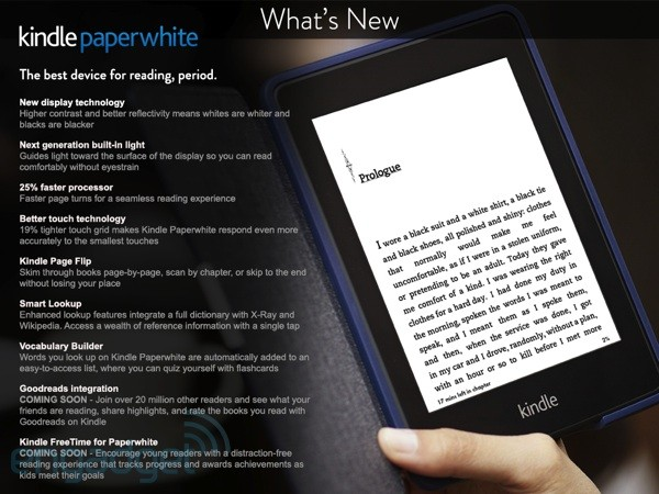 Neues Kindle Paperwhite am 9. Oktober
