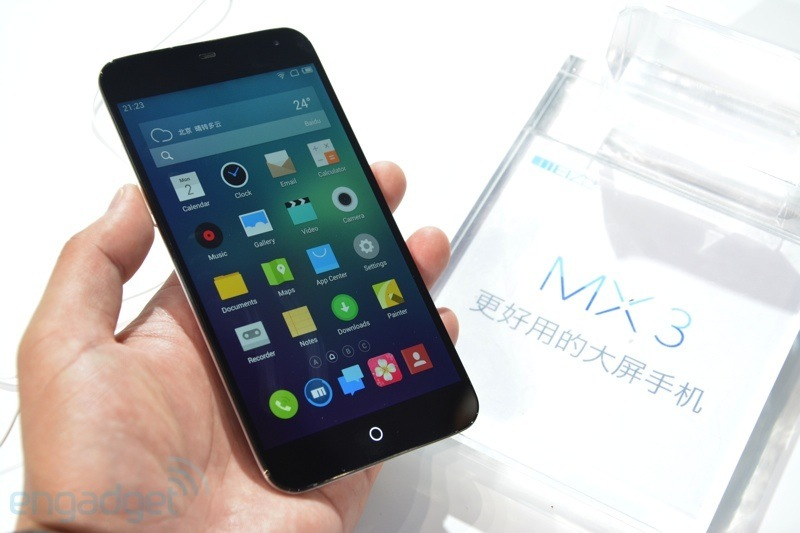 Meizu MX3 Hands-on (Video)