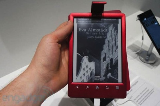 PRS-T3: Neuer E-Reader von Sony (Hands-On)