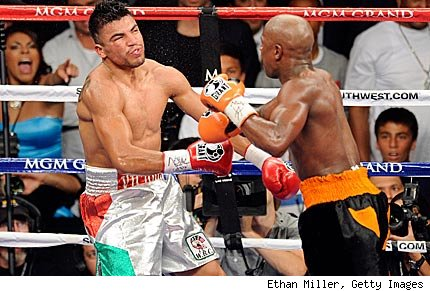 victor ortiz floyd mayweather