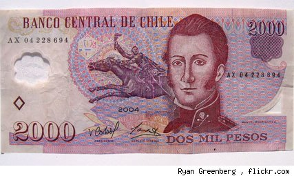 Billete Chile