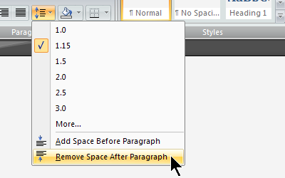 how to double space an essay on microsoft word