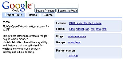 Google's Open-Source Code Project Hosting