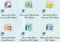 Office 2007 new icons