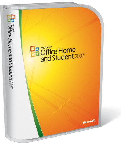 Office 2007 Home packaging