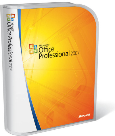 Office 2007 Professional packaging