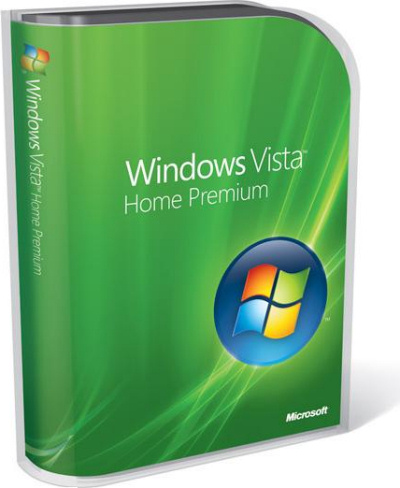 Windows Vista Home Premium packaging