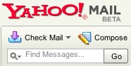 Yahoo! Mail Beta search