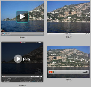 Video sharing quality comparison
