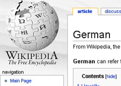 wikipedia used to spread virus