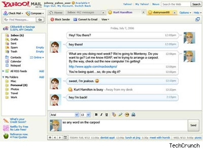 Yahoo! Mail with IM