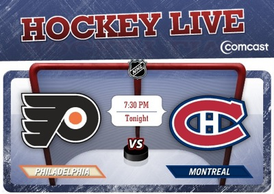Stream live NHL games on Comcast hockey live