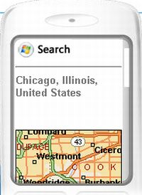 Windows Live search for Mobile