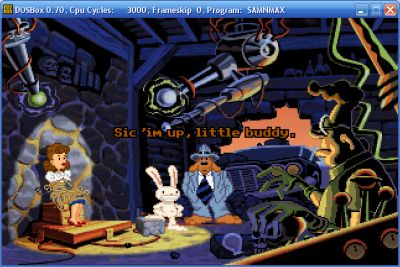 DOSBox Sam and Max
