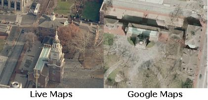 terabytes worth of image data to its Google Maps-like Live Maps ...