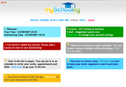 myschoolog planner