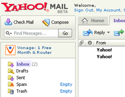 yahoo unlimited email storage