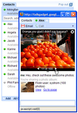 video in google talk