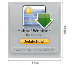 Yahoo! launches widget badges