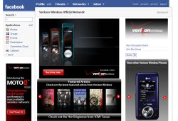 Facebook Verizon Wireless