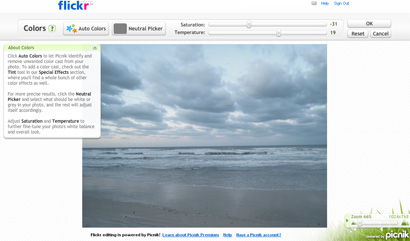 Flickr gets Picnik photo editing power