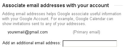 Associate email addresses with your Google account