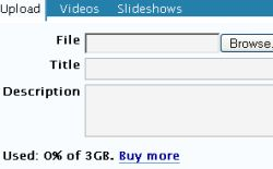 WordPress 3GB