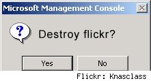 Destroy Flickr