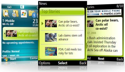 MSN Direct for Windows Mobile
