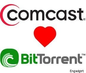 Comcast + BitTorrent