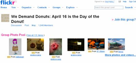 Flickr donuts