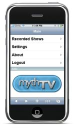 MythTV iPhone