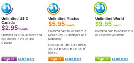 Skype unlimited plans